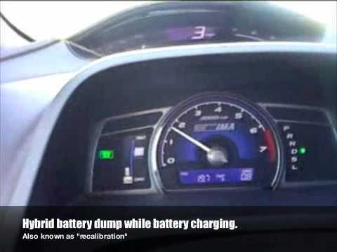 Honda Civic Hybrid Battery 2007 Honda Civic Hybrid Battery Problems - YouTube