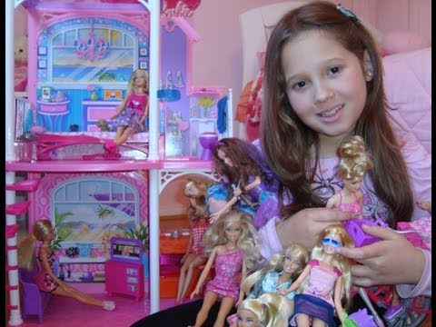 Casa da barbie + Barbies + Acessórios