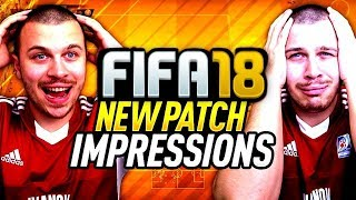 HUGE FIFA 18 PATCH - BIGGEST FUT CHAMPIONS CHANGES EVER! NEW INSANE UPDATE FOR FIFA 18 ULTIMATE TEAM