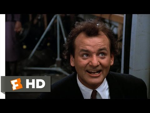 Scrooged (9/10) Movie CLIP - Death In An Elevator (1988) HD