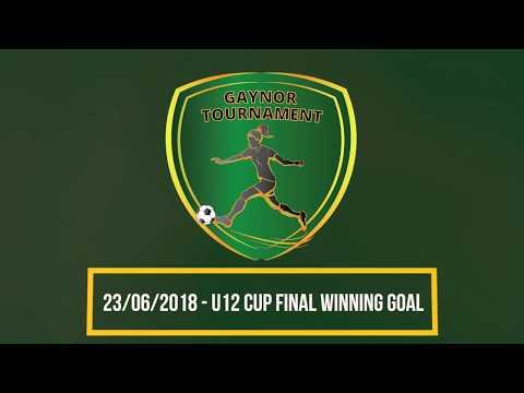 Gaynor Tournament: U12 Cup Final winning goal!