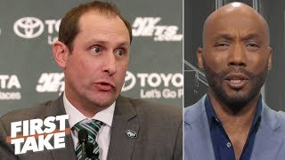 Adam Gase has done nothing in the NFL to be 'pulling power moves' - Louis Riddick | First Take