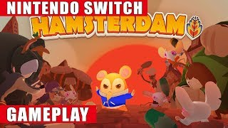 Hamsterdam Nintendo Switch Gameplay