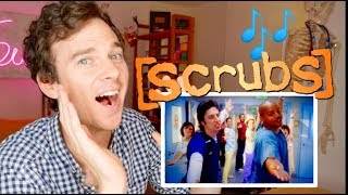 "SCRUBS ""My Musical"" real DOCTOR reaction 