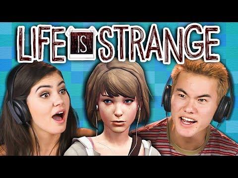 TEENS PLAY LIFE IS STRANGE - Part 1 (React: Gaming)