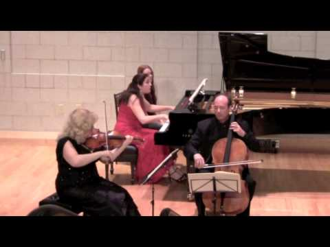 Summit Music Festival Mendelssohn Trio in D minor  Scherzo Aug. 5, 2013