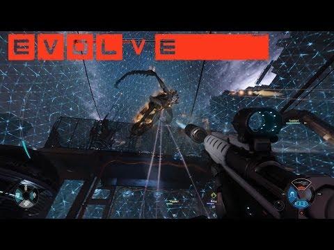 Evolve Gameplay - Taking Down the Kraken as Lazarus