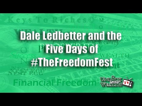 Heather Wagenhals with Dale Ledbetter and UnlockYourWealthTV celebrate Five Days of #TheFreedomFest