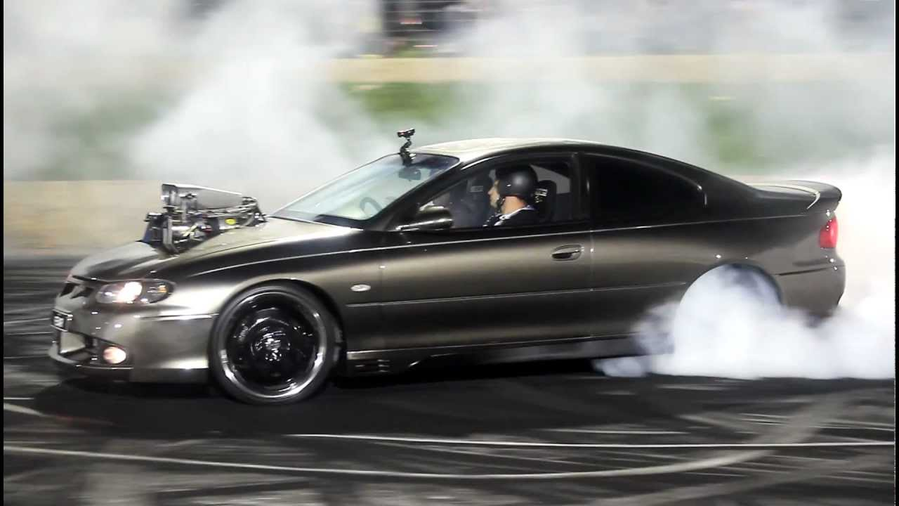fear burnout masters 2011 blown holden monaro youtube