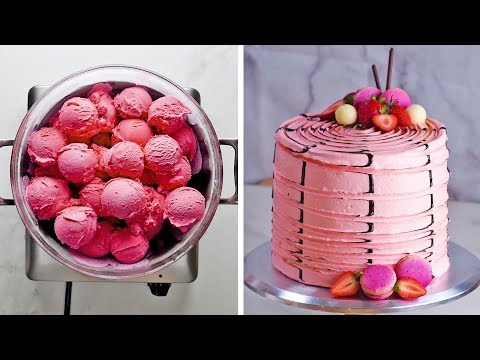 3 yummy flavors, 3 clever hacks, one ultimate Neapolitan cake! by So Yummy