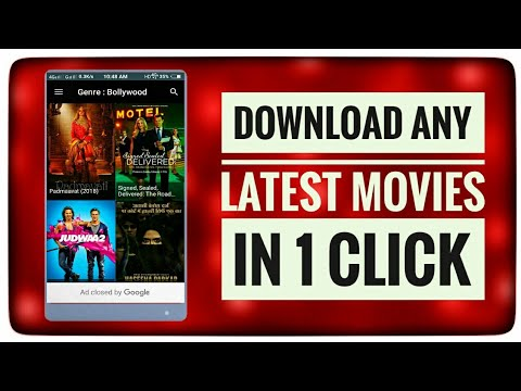 Download Any Latest Bollywood, Hollywood Movies In 1 Click