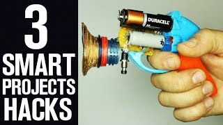 3 Smart DIY projects - 3 DIY Hacks