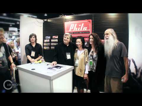 Cleartone Strings NAMM Show 2012 :: Phil Everly Signing - Lee Sklar  - T.M. Stevens ::