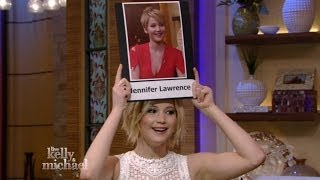"Jennifer Lawrence plays ""Name that Jen"""