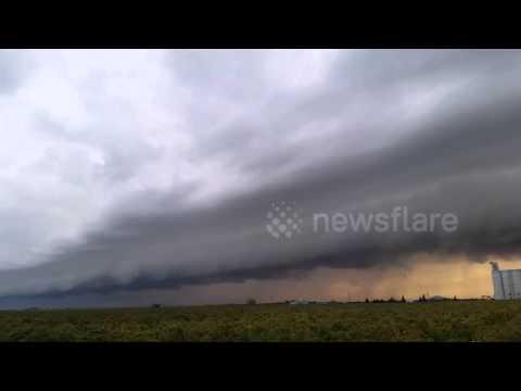 Shelf Cloud in Madera County