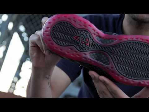 Review: Nike Foamposite - Cough Drop (Black / Varsity Red)