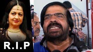 T Rajendar's emotional crying speech at Jyothi Lakshmi's Funeral | Death Video