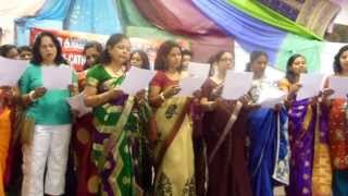 Ladies sing well on the Fathers Day Program. Song written by Jomol Chackonal.