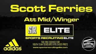 Scott Ferries (Scotland), Att Mid/Winger, 2016 Entry - Former Scotland U17 International