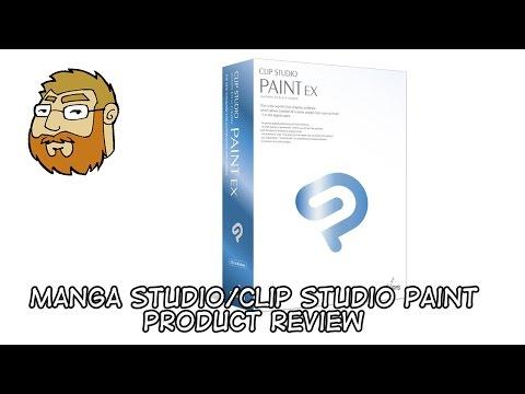Product Review - Manga Studio/Clip Studio Paint