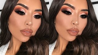 SOFT CUT CREASE THANKSGIVING MAKEUP TUTORIAL | iluvsarahii