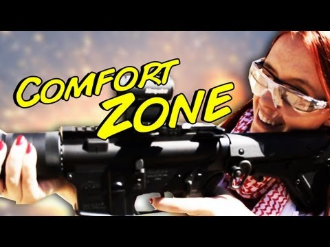 Shooting Big Guns! Comfort Zone #2!!