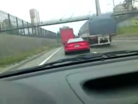 Dodge Viper Crashing a Van!!! CRASH!!! NEW VIPER CRASHED Video