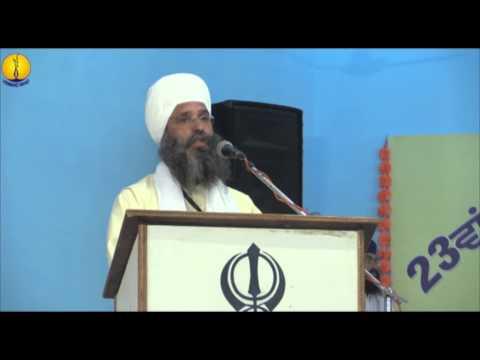 Sant Baba Amir Singh Ji : Adutti Gurmat Sangeet Samellan - 2014