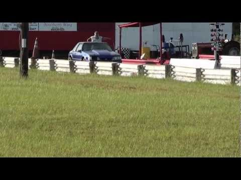 88 Ford Mustang Police Interceptor at Panama Beach Raceway
