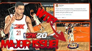 MAJOR ISSUE THAT NBA 2K20 NEEDS TO FIX BEFORE LAUNCH! I LOST MY VOICE!
