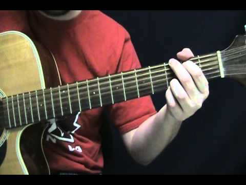 how to play lucky on guitar