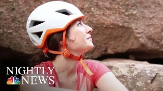Inspiring America: Adaptive Climbers Help Each Other Reach New Heights | NBC Nightly News