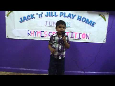 Rhymes Competition, May 2013 - I Prize(arun Krishna - Ukg) video