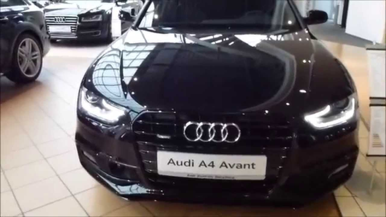 2015 audi a4 avant s line exterior interior 2 0 tdi 150 hp see also playlist youtube. Black Bedroom Furniture Sets. Home Design Ideas