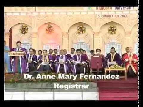 Karunya University - Convocation 2010