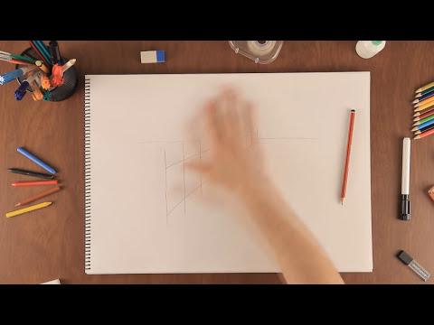 Cómo dibujar en perspectiva : Aprende a dibujar como un profesional