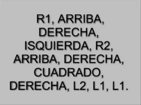 CLAVES DE GTA SAN ANDREAS PS2 (INCLUYE NO POLICIAS).mp4