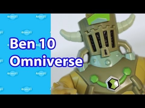Ben 10 Omniverse Toys Review