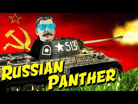 BEST TANK OF WW2...IS RUSSIAN (War Thunder) Panther T-V