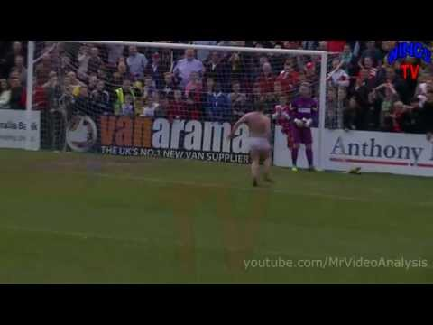 Streaker at Southport FC match