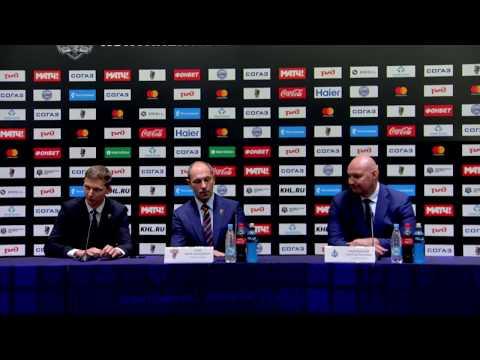 Сочи - Адмирал: пресс-конференция (28.08.2017)