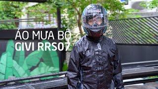 Bộ đồ đi mưa GIVI RRS07 - chống mưa tốt, mau khô, đáng đồng tiền bát gạo