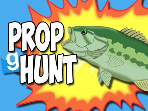Prop Hunt with the Crew! - Floppy Fish! (Garry's Mod Funny Moments!) klip izle