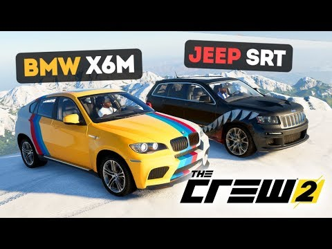 BMW X6M ПРОТИВ JEEP GRAND CHEROKEE SRT! КТО КРУЧЕ? - THE CREW 2