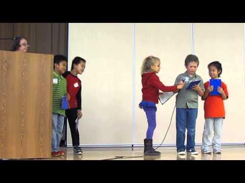 Red Cedar Elementary School Bird Grant Celebration w/Miss Medler's Class 2011