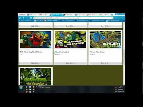 how to play ben 10 ultimate alien games HD