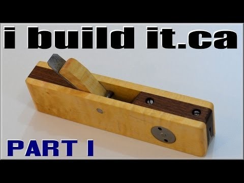 Making A Wooden Chamfer Plane, Part 1 of 2 Music Videos