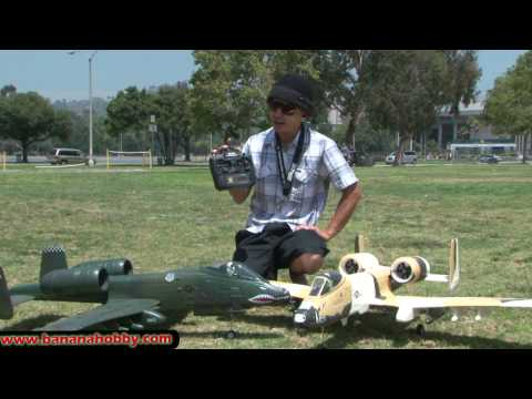 A-10 Warthog with Retracts! Super Scale RC TWIN EDF RTF Jet! Flight Review in HD!