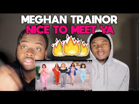 Meghan Trainor - Nice to Meet Ya (Official Music Video) ft. Nicki Minaj Reaction