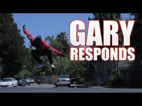 Gary Responds To Your SKATELINE Comments Ep. 194 -  Garrett Ginner, Chris Joslin over Luan Oliveira